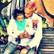 Chris Brown kümmert sich um seine Kleine