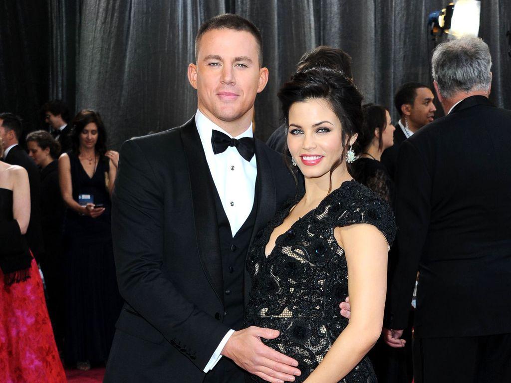 Channing Tatum und Jenna bei den Oscars 2013