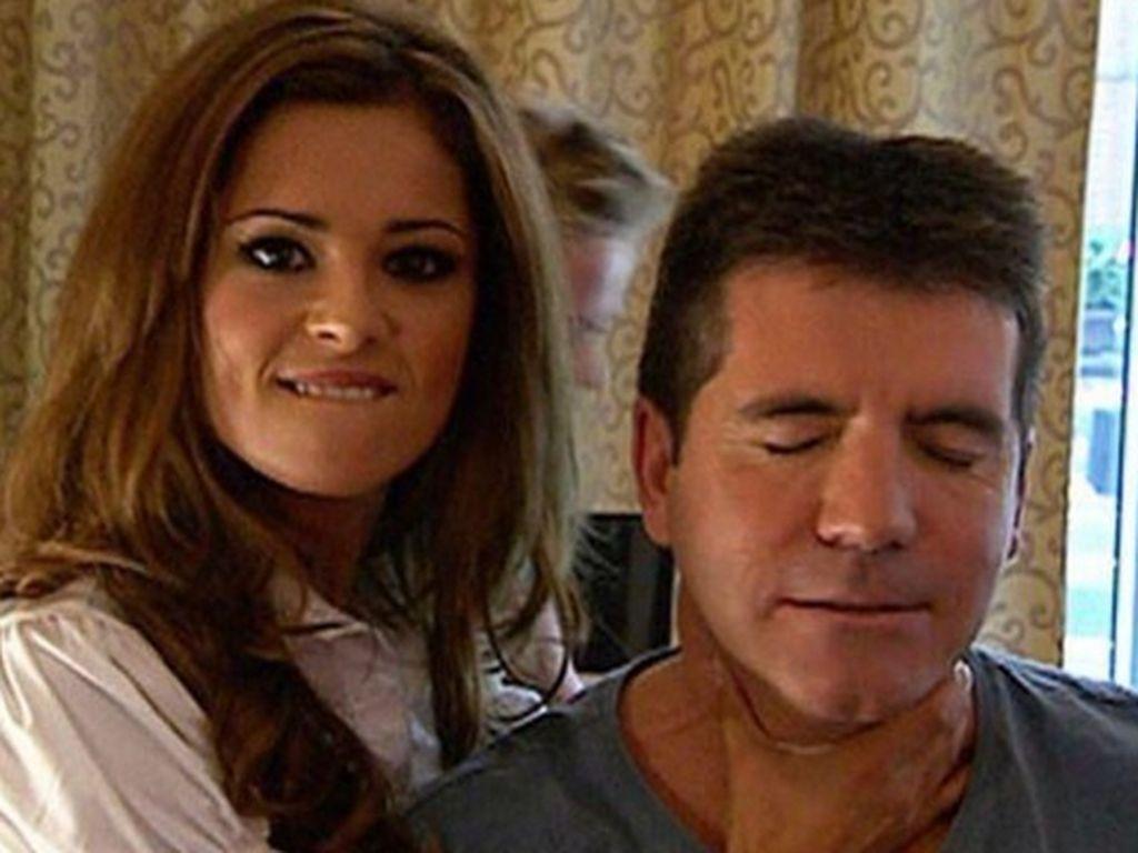 Cheryl Cole mit Simon Cowell