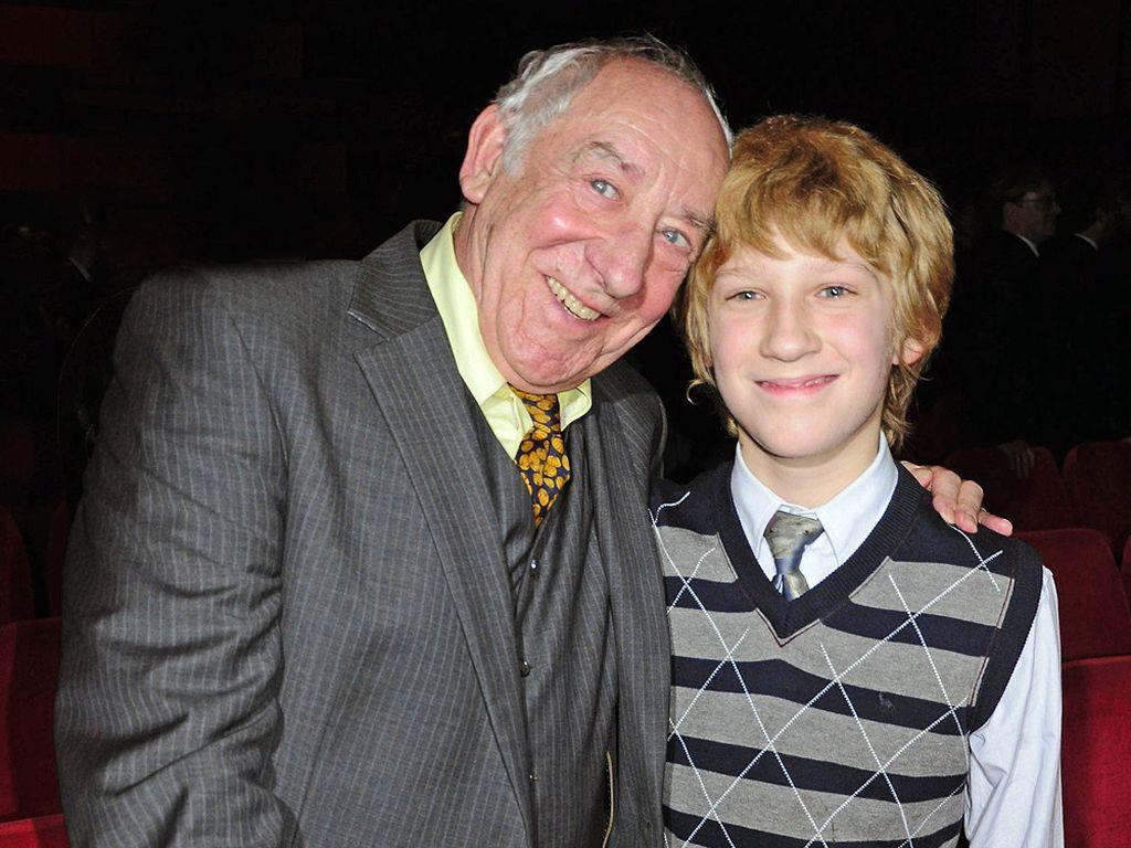 Dieter Hallervorden und sein Sohn Johannes
