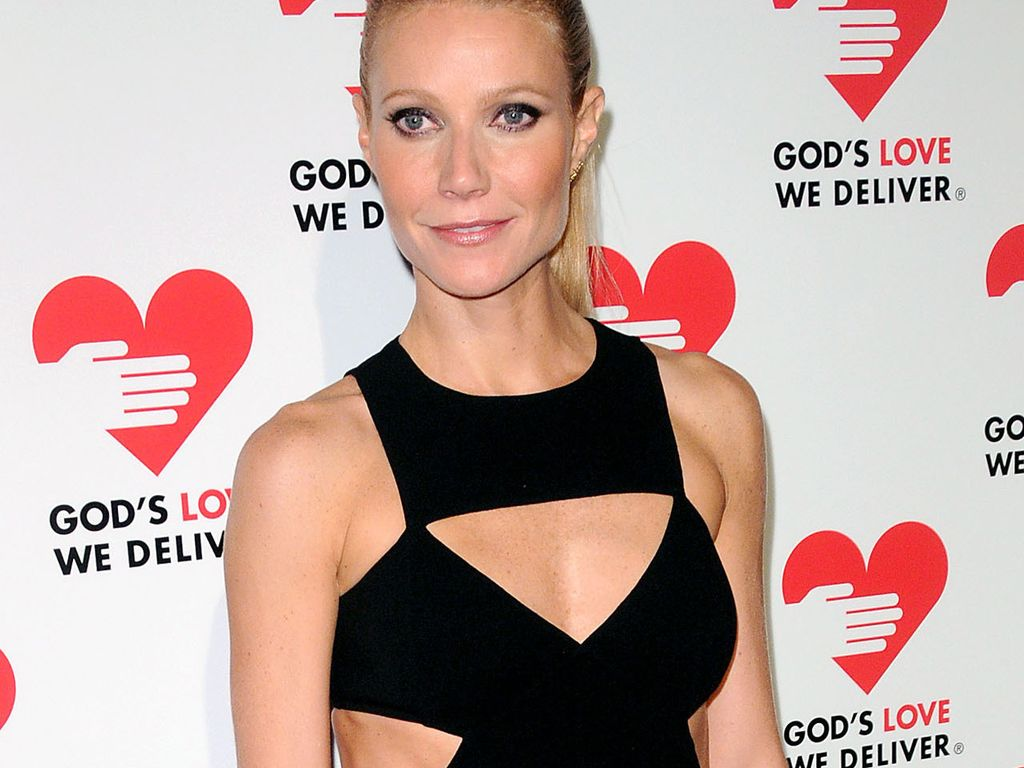 Gwyneth Paltrow sexy im Cut-Out-Dress