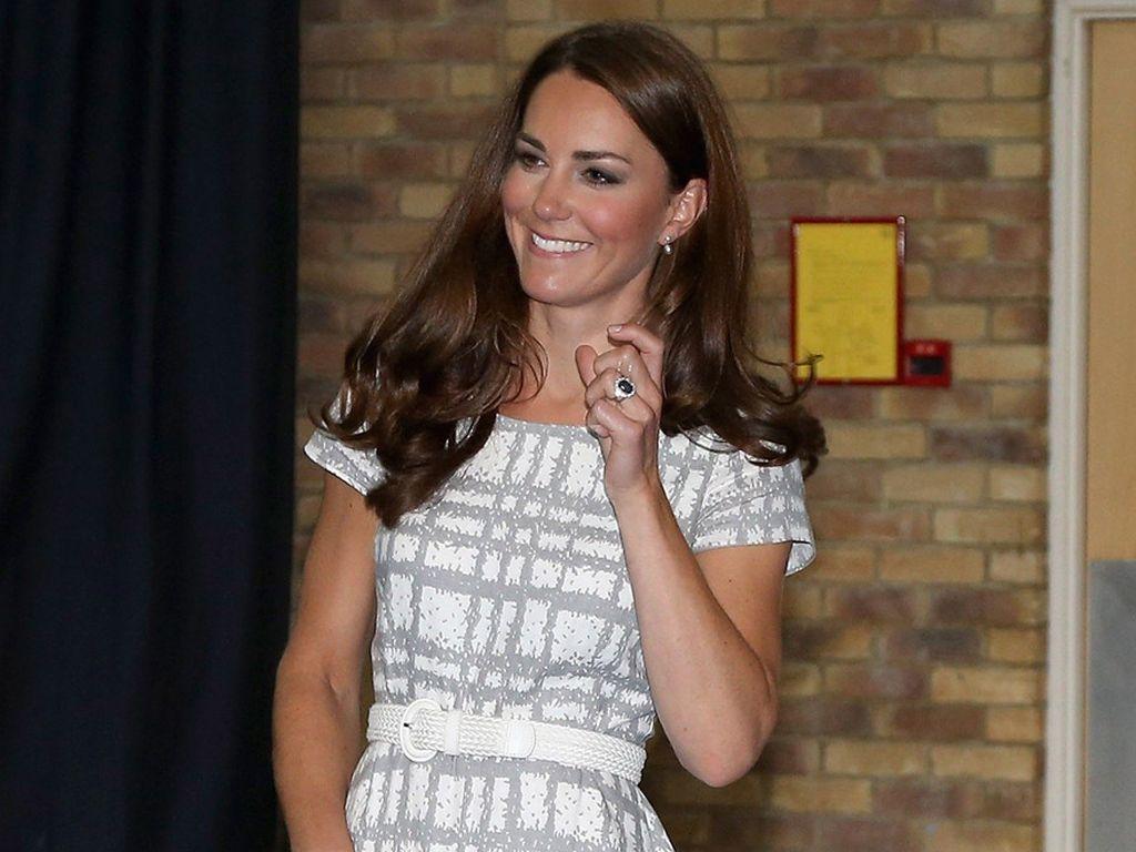 Herzogin Kate ohne Schuhe