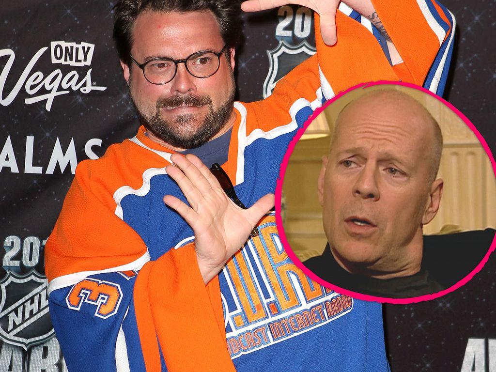 Kevin Smith und Bruce Willis