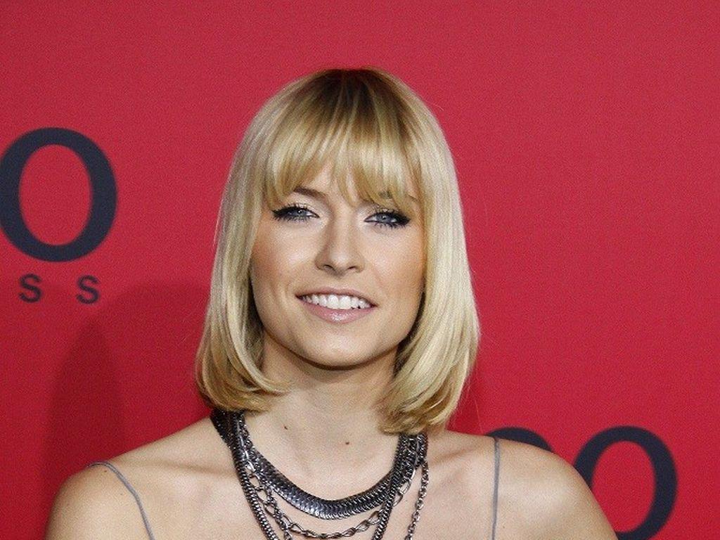Lena Gercke hat lange Haare