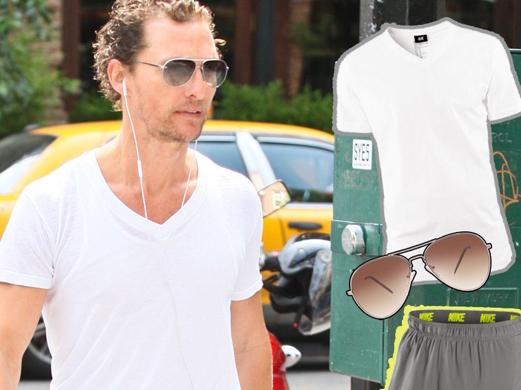 Matthew McConaughey Nike-Style