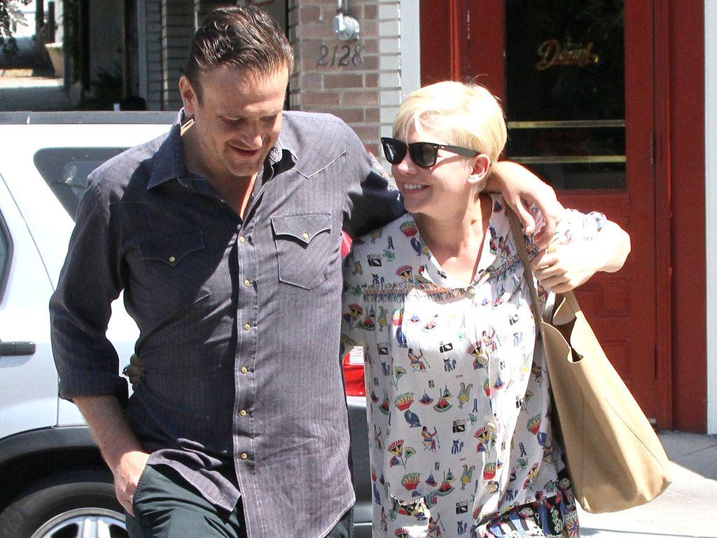 Michelle Williams und Jason Segel zusammen