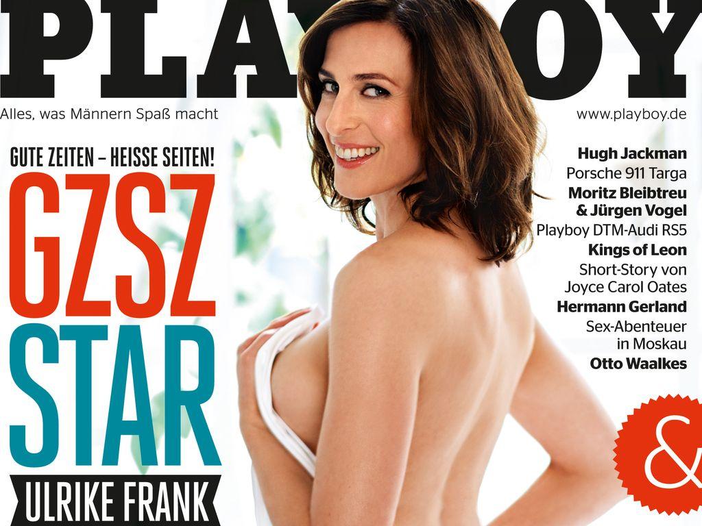 So machte sich Ulrike Frank für den Playboy fit
