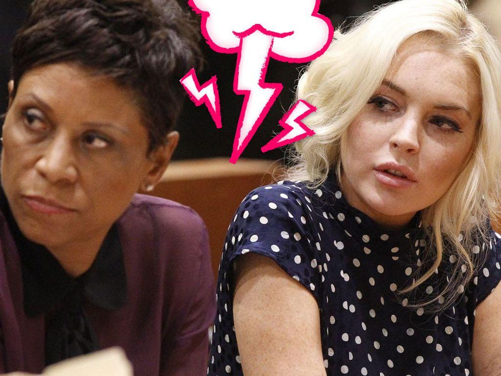 Shawn Holley und Lindsay Lohan sind im Streit