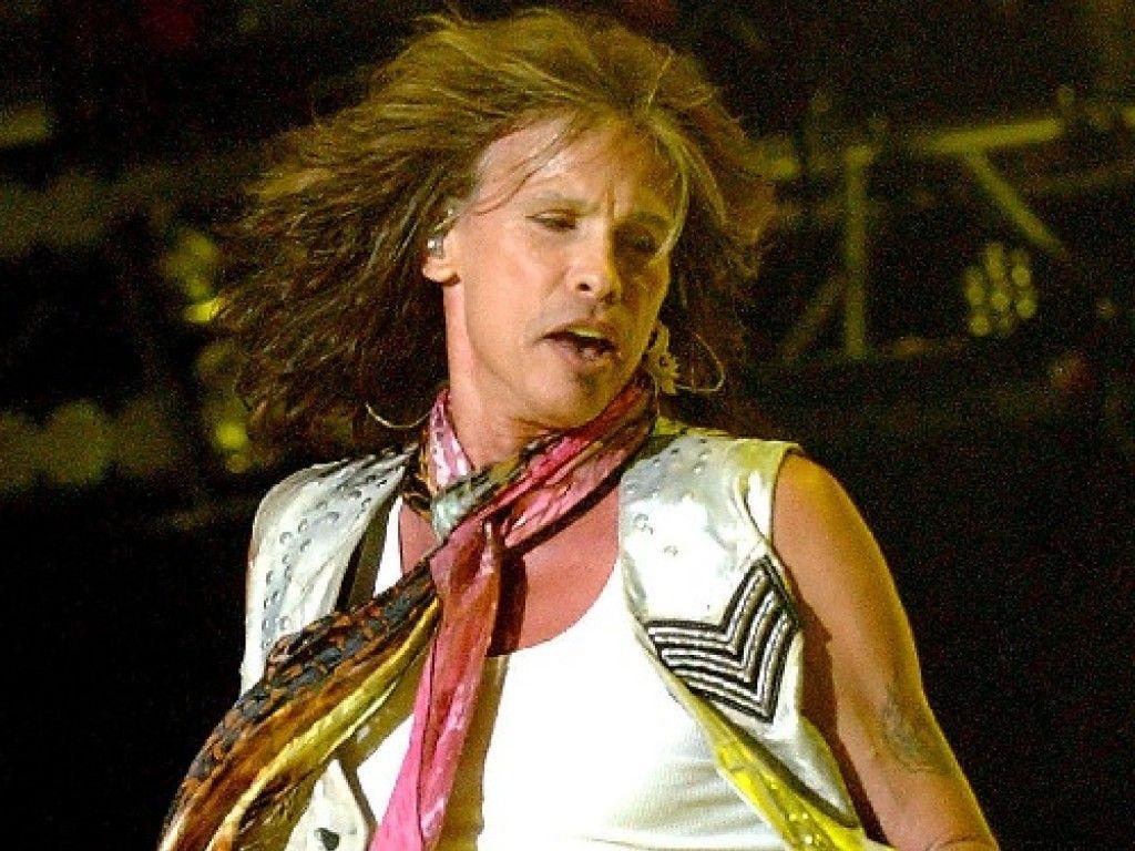 Steven Tyler bei einem Aerosmith Konzert