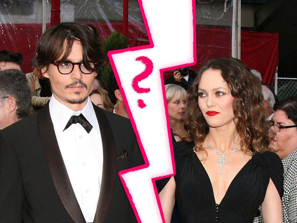Vanessa Paradis und Johnny Deppp - mögliche Trennung