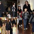Im Laufe der Jahre wurden Brad Pitt, Angelina Jolie und ihre Kids häufig fotografiert