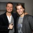 """Raúl Richter und Pete Dwojak gingen hingegen zur Premierenparty des Films """"Tomboy"""""""