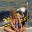 Geri Halliwell genoss den Tag in der Sonne