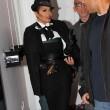Ob sie mit dem Outfit beabsichtigte, ihn zu kopieren?