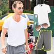 Matthew McConaughey zeigt sich im sportlichen Nike-Style