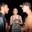 Zwischen Noah Becker, Jimi Blue und Laura Zurbriggen ging es auf der Fashion Week heiß her