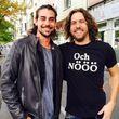 Patrick Cuninka besucht Robbin in Berlin