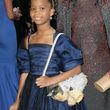 Sie trug ein Kleid von Armani
