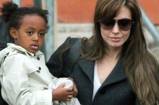 Angelina Jolie hat Angst, ihre Adoptivtochter Zahara zu verlieren