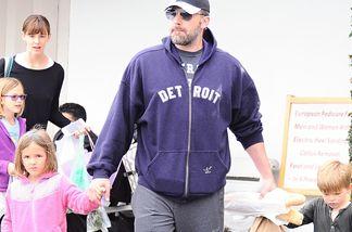 Ben Affleck und Jennifer Garner waren nun gemeinsam mit ihren Kindern unterwegs