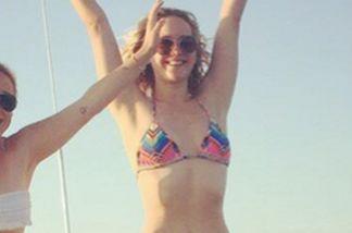 Foto mit absolutem Seltenheitswert: Jennifer Lawrence im Bikini