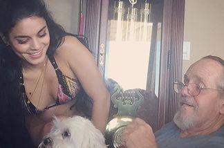 Vanessa Hudgens sorgt sich um ihren Vater