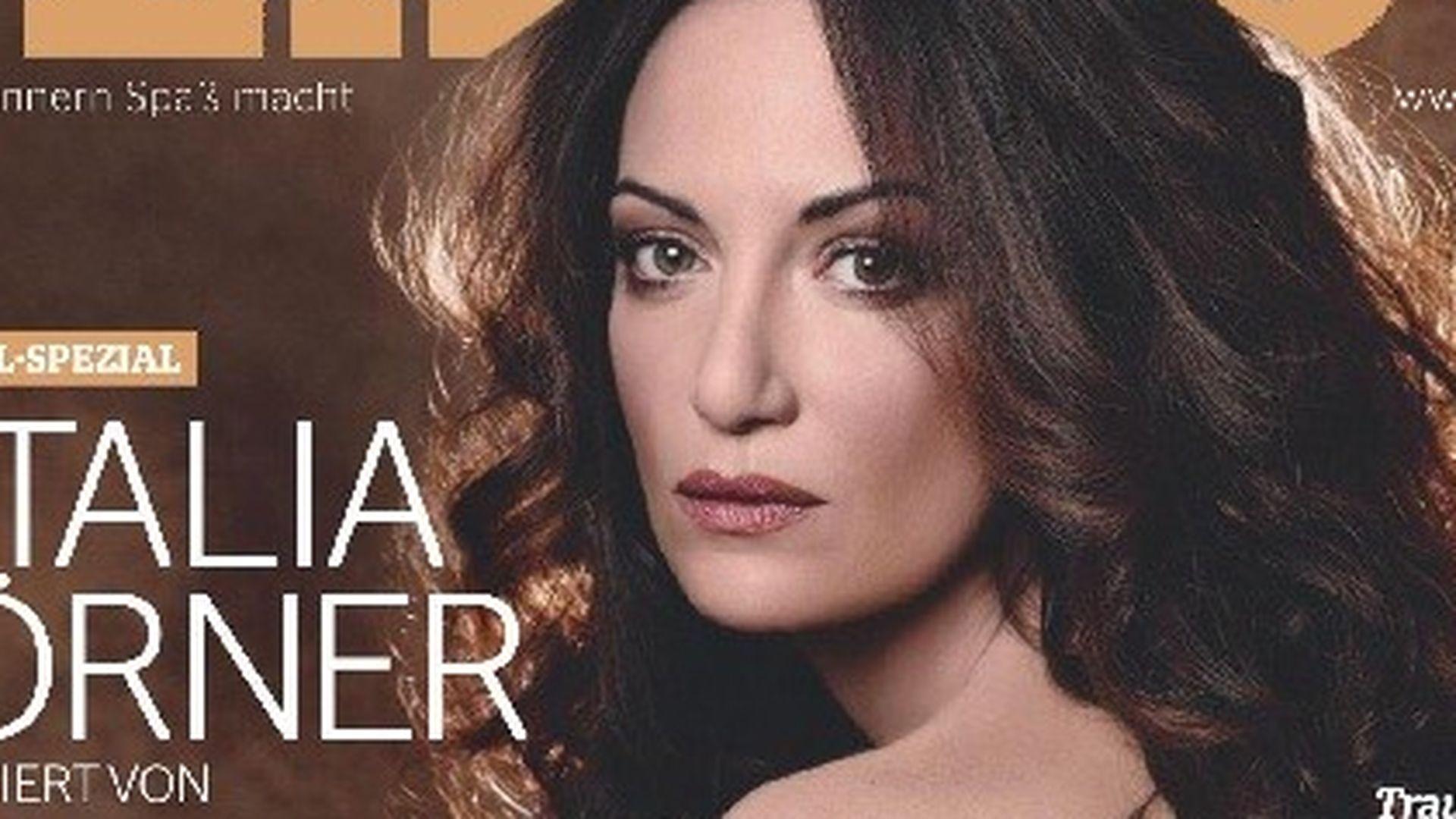 Verführerisch! Natalia Wörner nackt im Playboy