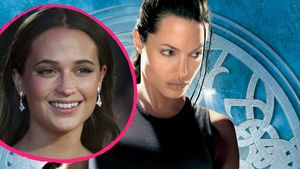 Alicia Vikander, Angelina Jolie Collage
