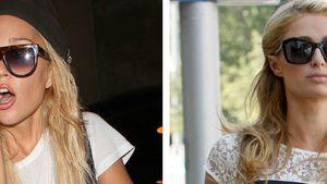 Amanda Bynes aufgebracht und Paris Hilton guckt arrogant