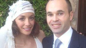 Andrés Iniesta und seine Frau Anna Ortiz