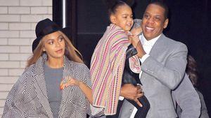 """Beyoncè, Jay-Z und Blue Ivy bei der """"Annie""""-Premiere"""