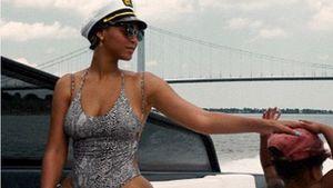 Beyoncé und Blue Ivy im Badeanzug