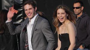 Blake Jenner und Melissa Benoist sind happy