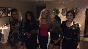Britney Spears und Fifth Harmony beim Treffen in Vegas
