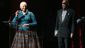 Camille Cosby mit Bill Cosby