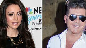 Cher Lloyd und Simon Cowell