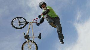Dave Mirra beim Biken