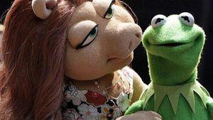 Denise und Kermit zusammen