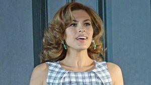 Eva Mendes beim Werbedreh in New York