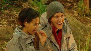 Gabby und Marco lachen