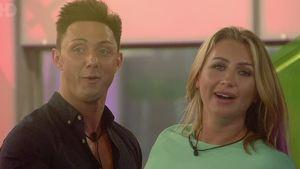 Geordie Shore-Star Ricci Guarnaccio und Lauren Goodger bei Celebrity Big Brother