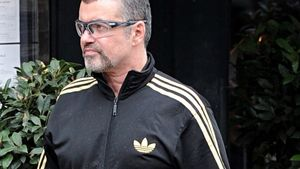 George Michael im Jogginganzug
