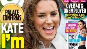 Herzogin Kate auf dem Titelbild der OK USA