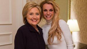 Hilary Clinton und Britney Spears