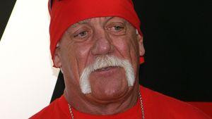 Hulk Hogan guckt nicht so glücklich
