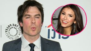 Ian Somerhalder und Nina Dobrev Collage