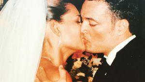 Jana Ina und Giovanni Zarrella bei ihrer Hochzeit 2005