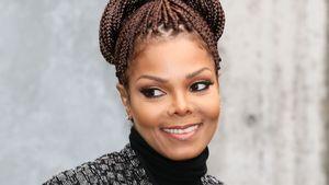 Janet Jackson guckt süß