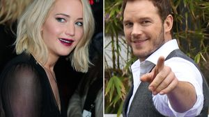Jennifer Lawrence und Chris Pratt in einer Collage
