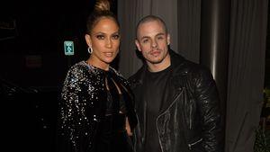Jennifer Lopez zusammen mit Casper Smart